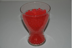 Vandperler - rød