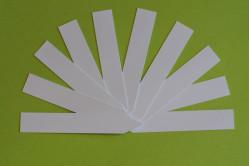 Stiketiket / plantepind - Hvid (10 stk)